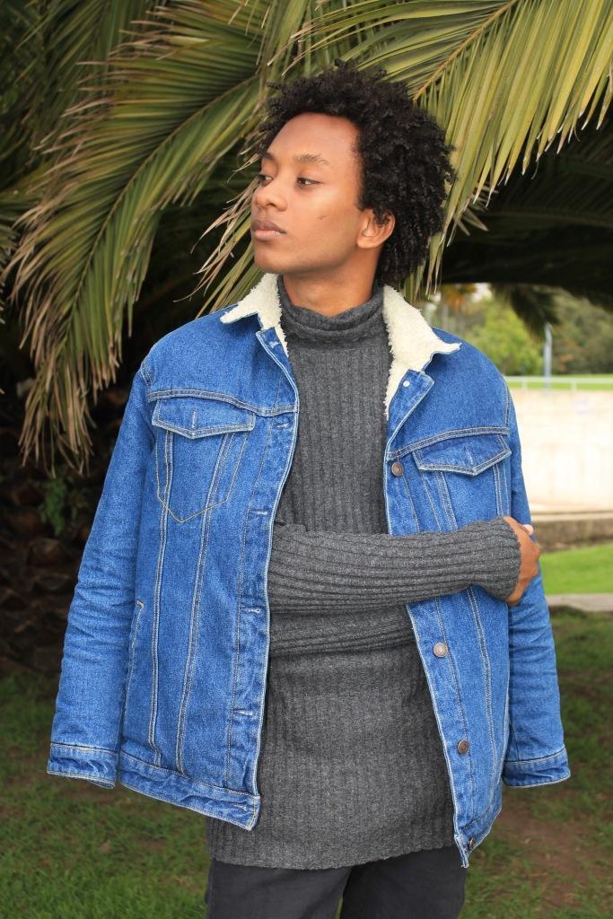 turtleneck sweater sleeves sheraling jacket