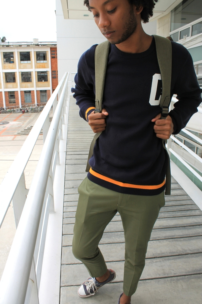 crop pants asos carhartt sweater converse