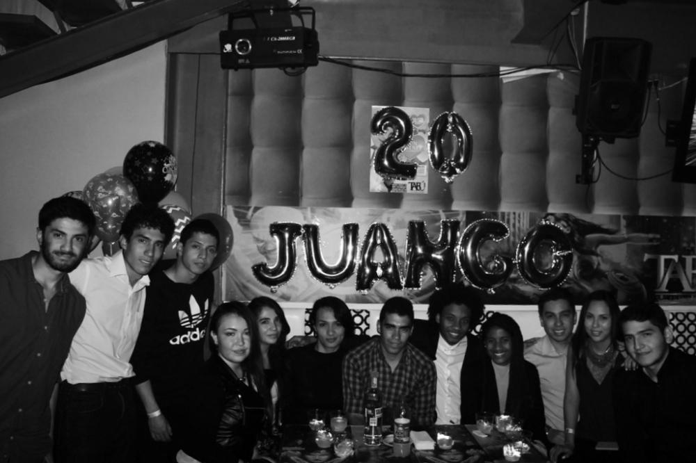 juango 20 party friends people rumba tabu bogota juan gomez